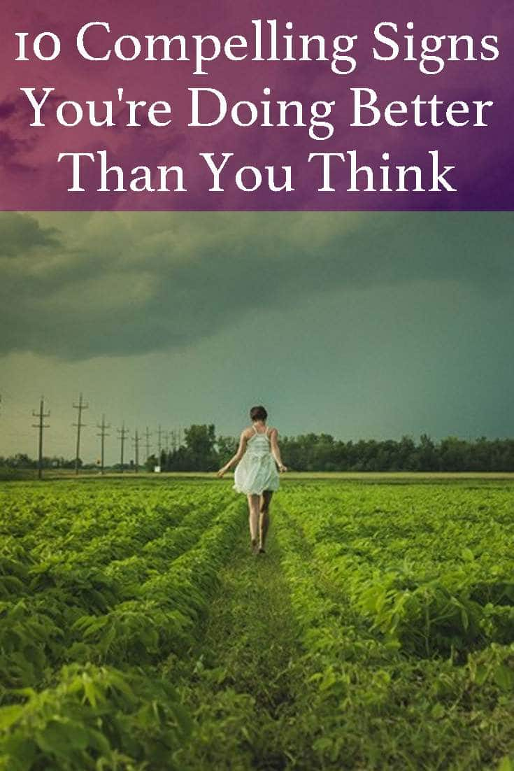 The perfect life you've dreamed off seems miles away. But, the reality is that you are doing better than you think. George Mortimer explains why.