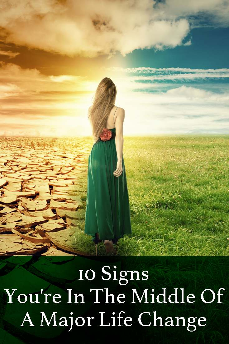 They say every 7 years we go through a change of life. A new life cycle. Some of us feel it, others ignore it. Here are a few signs you may recognize.