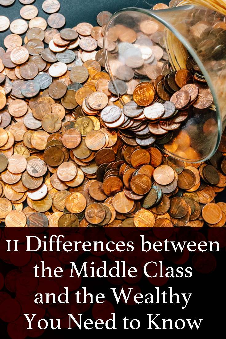 John Unger makes an exhaustive list of the differences between the middle class and the wealthy.