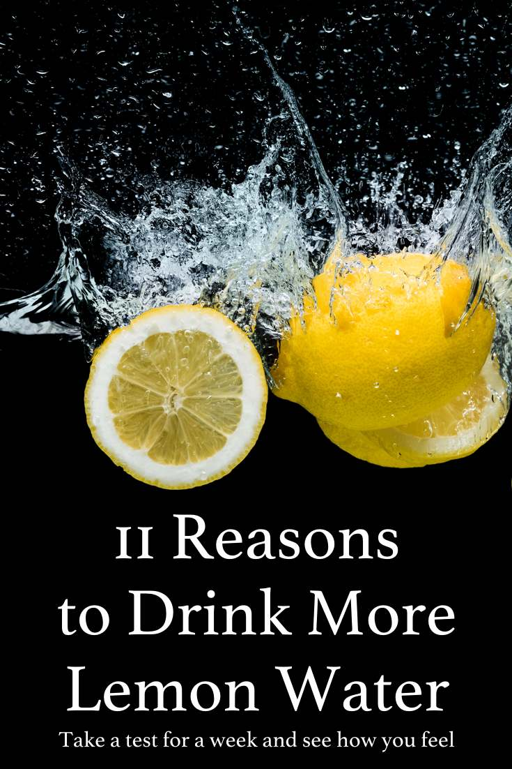 Ever wondered why so many people are talking about lemon water - here's 11 reasons
