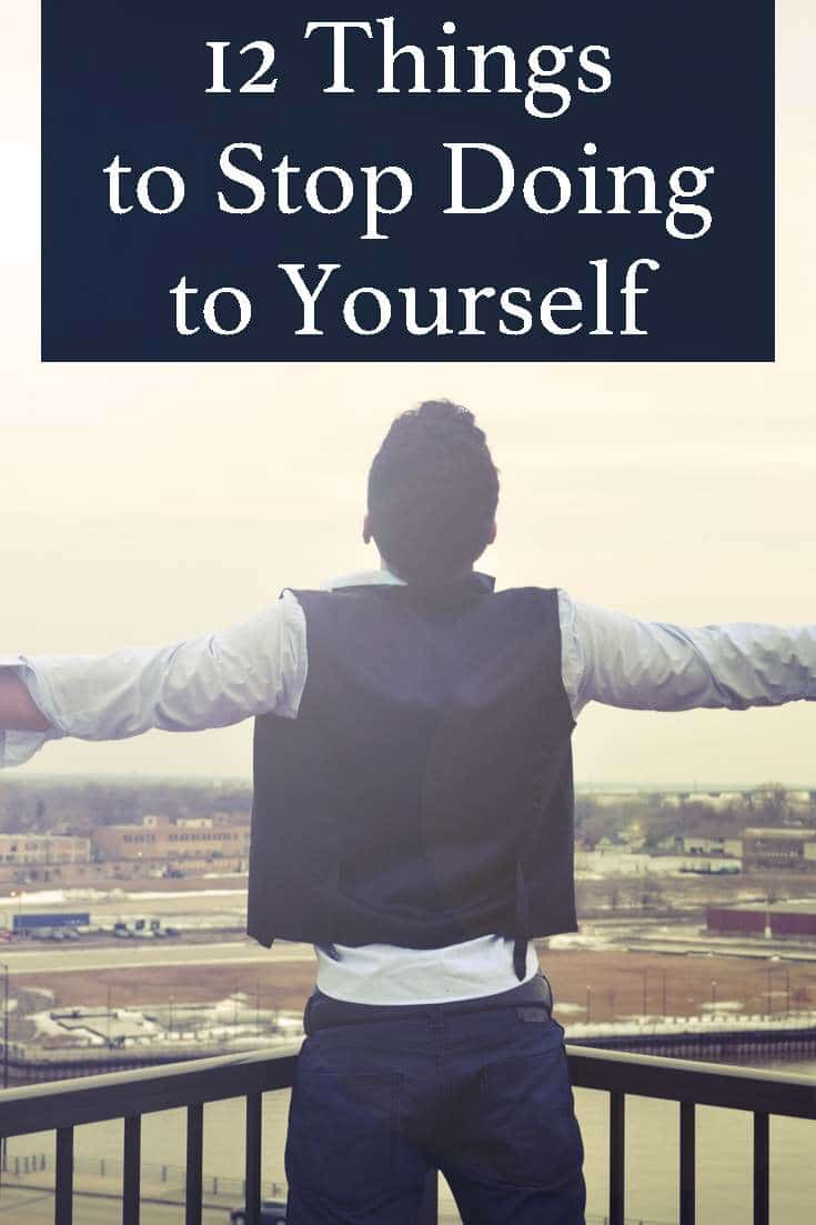 Did you know that by doing certain things (often unconsciously) you end up hurting yourself?