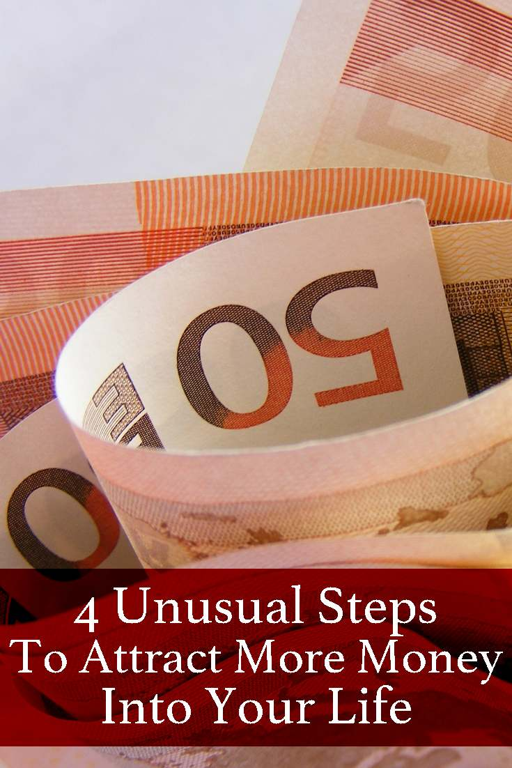 Are you struggling to attract money? I did, until I started following 4 unusual steps that have changed my financial and personal life.