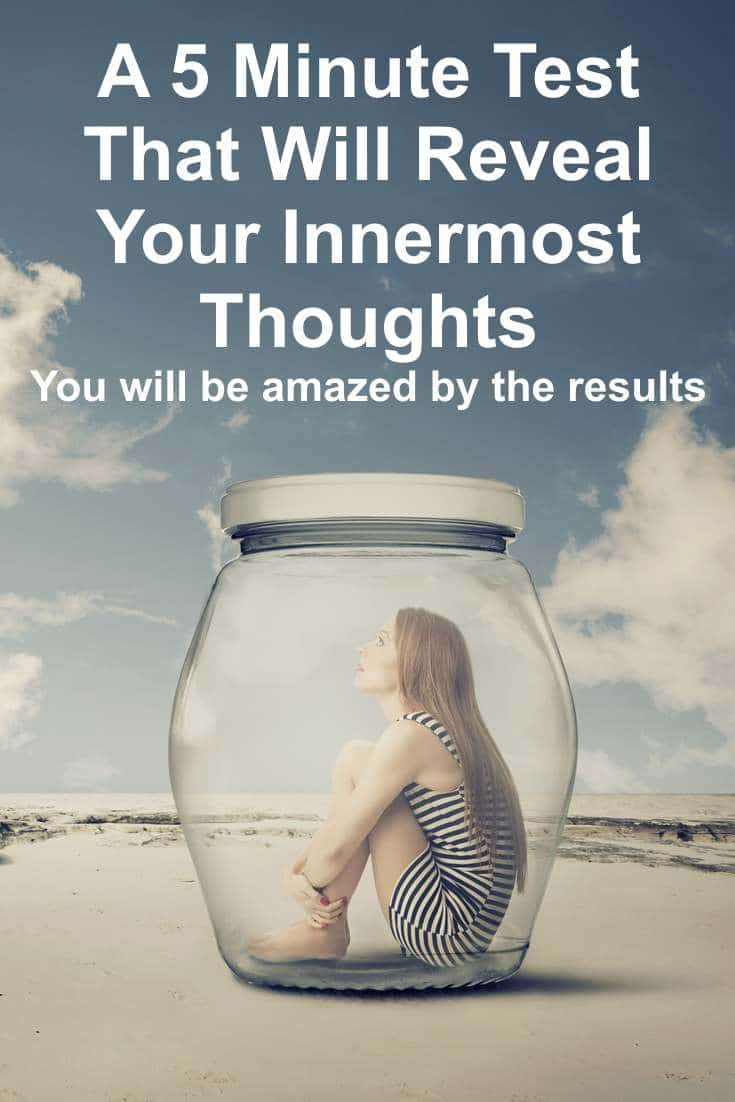 A way to find out your innermost thoughts in the space of 5 minutes - a fun little game.