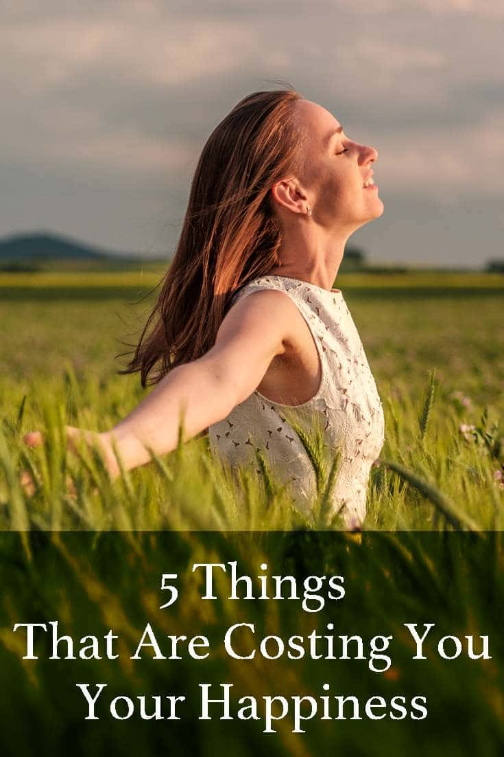 Happiness doesn't just come to people by chance. Below are 5 things that could be ruining your chances of being happy.