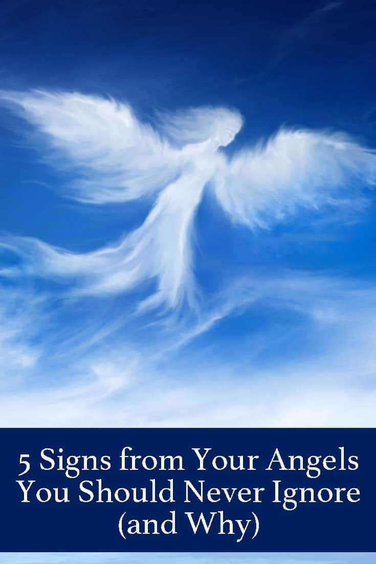 Angels are our guardians and guides. When the Angels want to get your attention, there are some signs you should not ignore