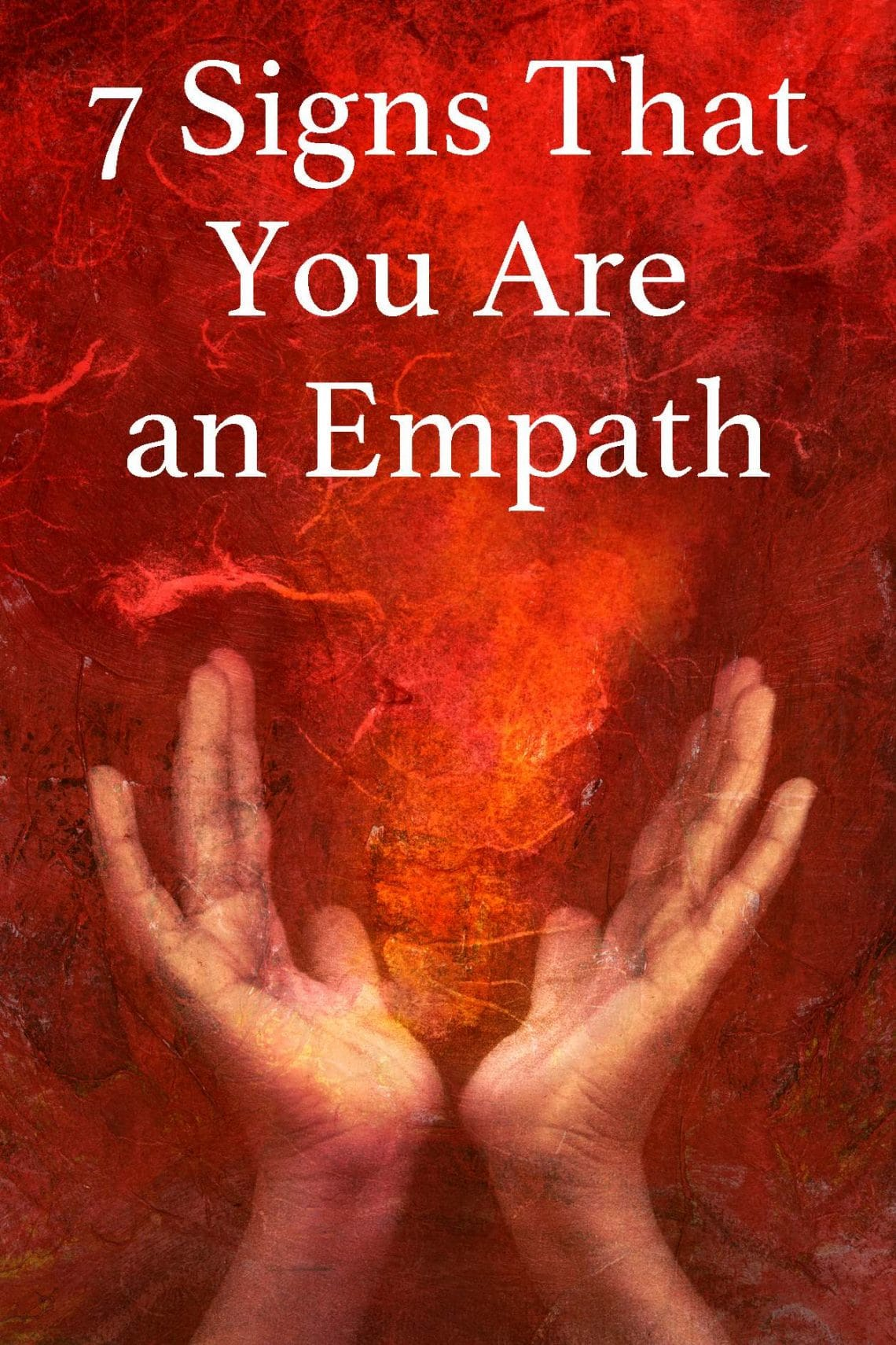 Check out this signs to see if you are an empath.