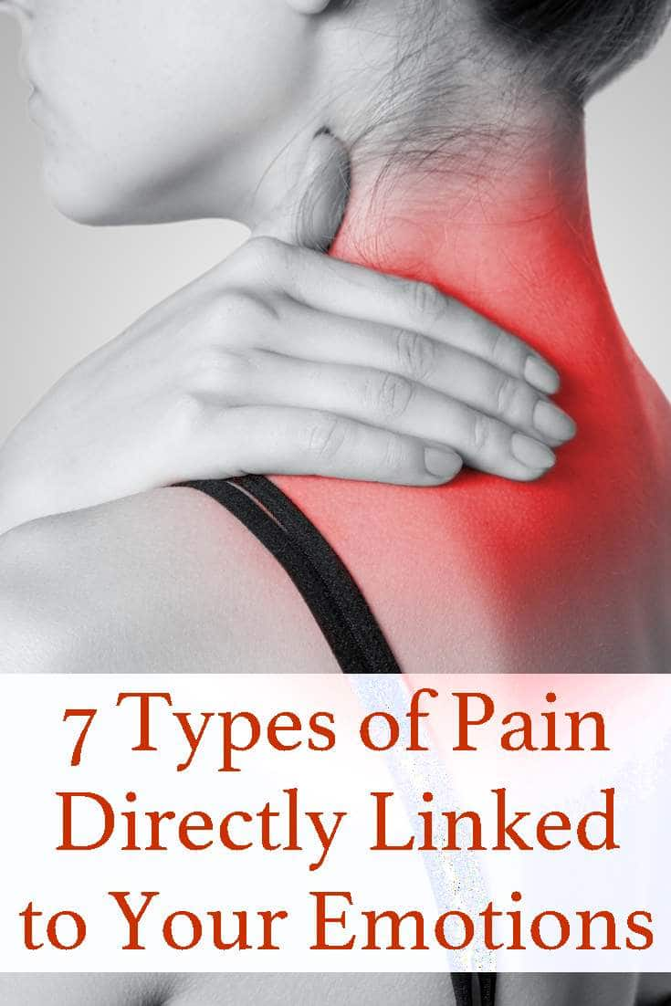 Pain could be related to your emotions. Here's a list of aches and pains that are probably more than a pulled muscle.