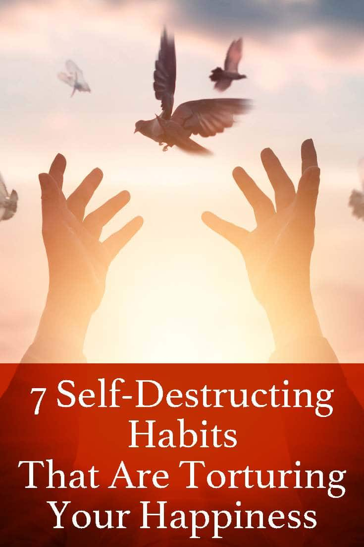By breaking some or all of these habits, even without any major changes otherwise in your life, your life will positively be better than it was before.