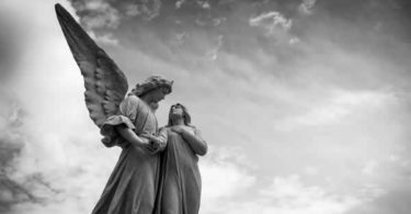Image of angels statue