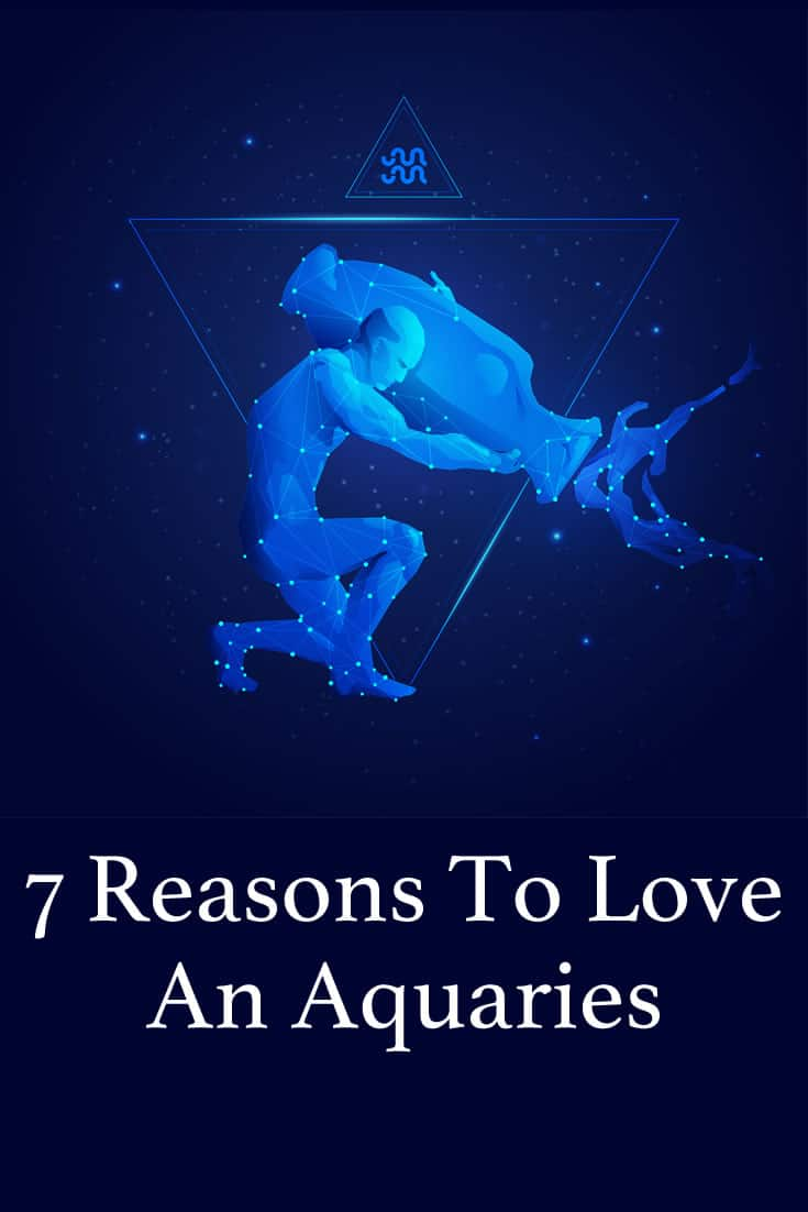 An Aquarius is comfortable showing their love when they feel it reciprocated and when they are made to feel safe. Herein are 7 more reasons to love these people.