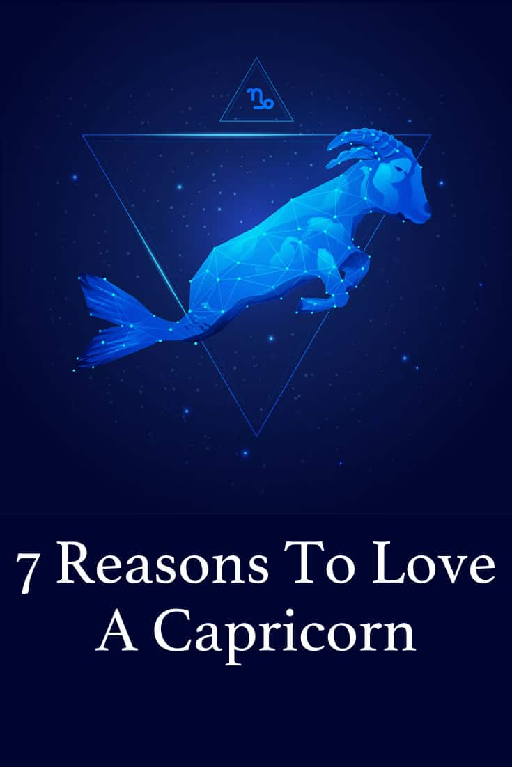 Herein are 7 reasons why loving a Capricorn is pure bliss.