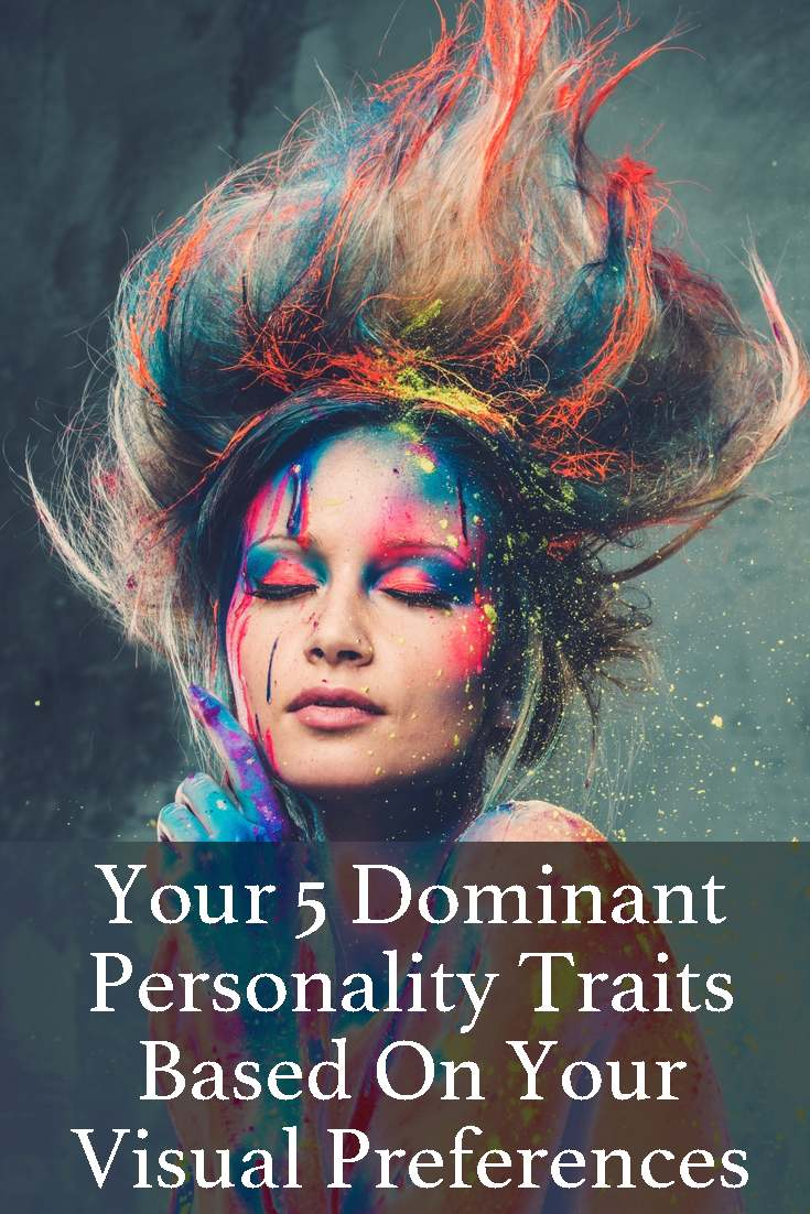 Find out what your five dominant personality traits are by clicking on the images in the quiz - this is really quite revealing