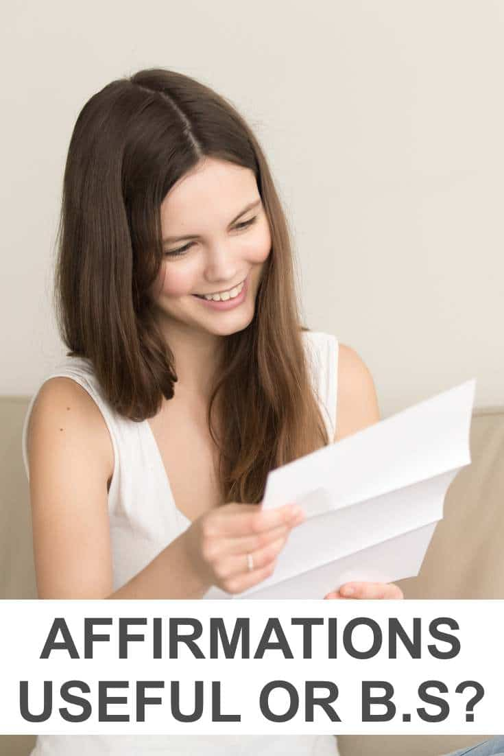 Affirmations are a staple of the personal development industry. But is it legit or just magic woo woo that doesn't work?