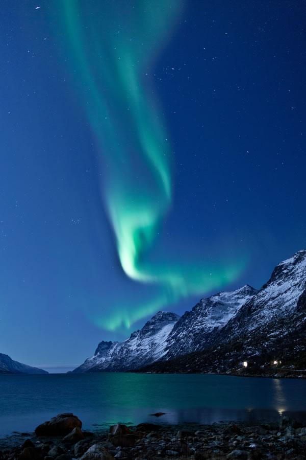 aurora-green-sky
