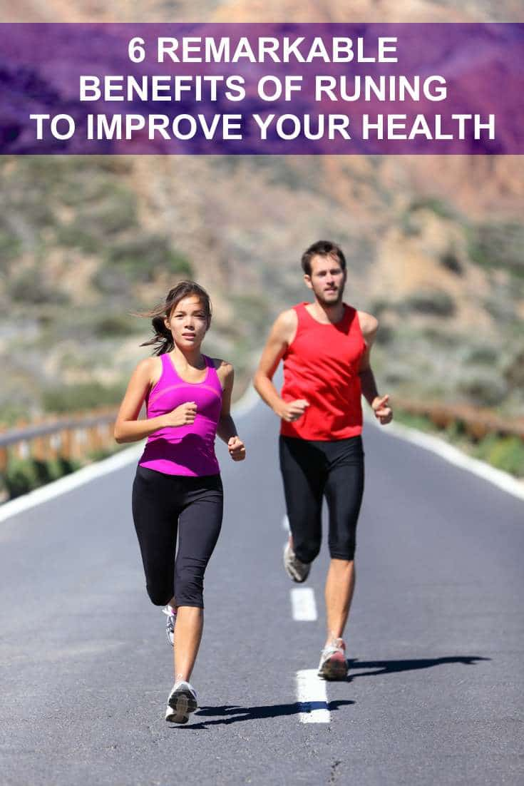 6 Remarkable Benefits of Running to Improve your Health