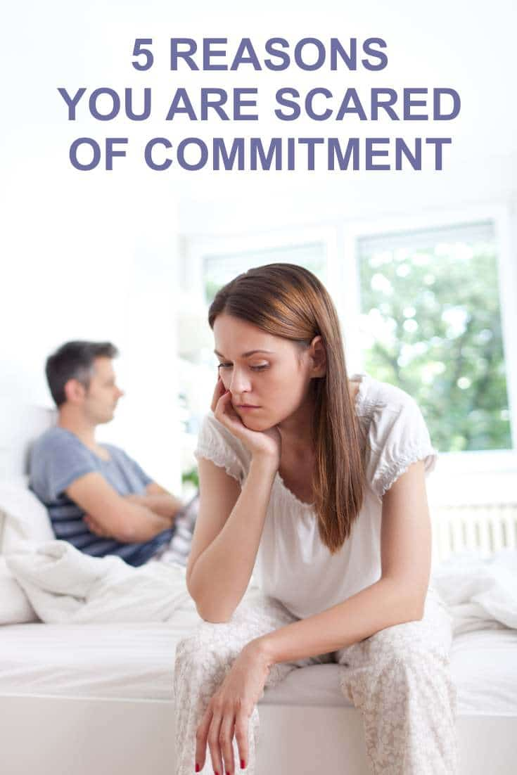 Are you scared of commitment? Take a look and try to overcome these obstacles in your love life.