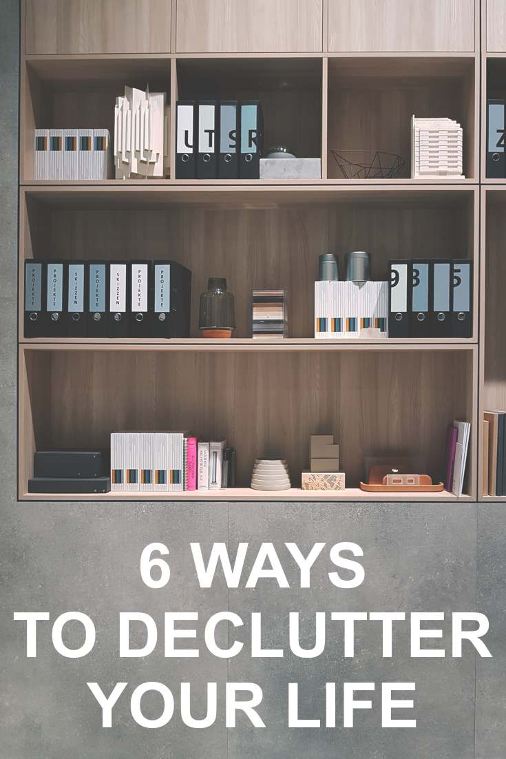 What it means to declutter your life...