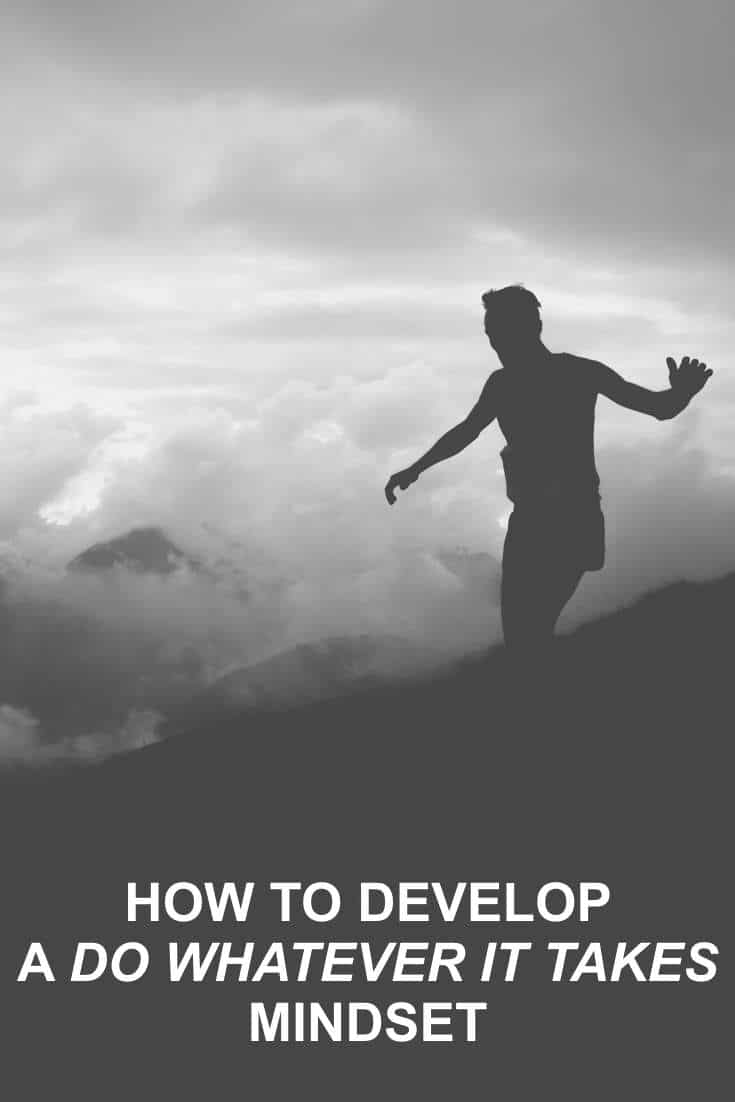 If we want to have a good chance of achieving success, there is one thing we can do that will help us. That is to develop a