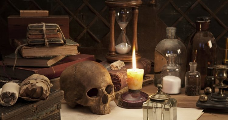 Alchemy still life