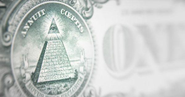 Money conspiracy concept