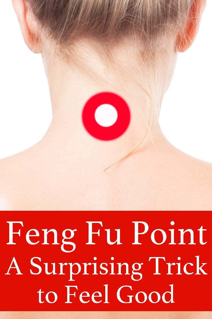 You won't believe what happens when you place an ice cube on this feng fu point on your body....