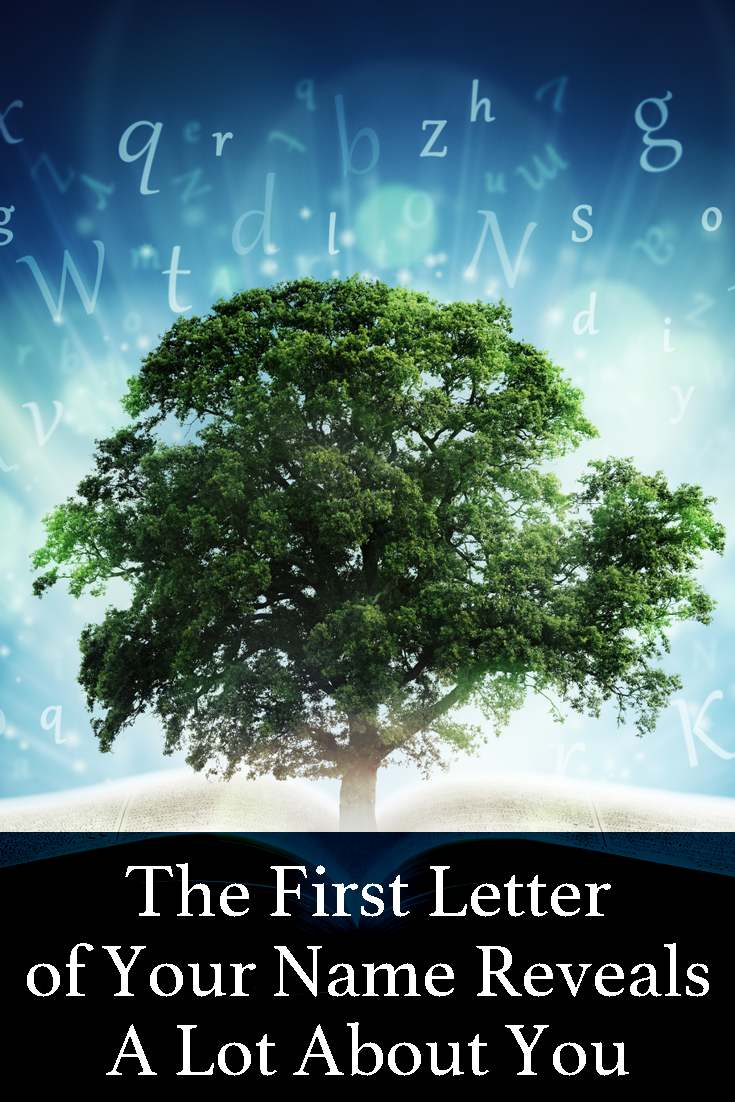 The first letter of your name can actually reveal a lot about your personality. This is really accurate, test it for yourself and on your family and friends