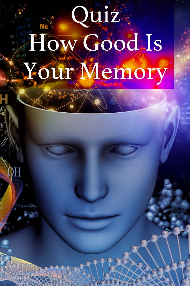 A quick quiz to test just how good your memory really is