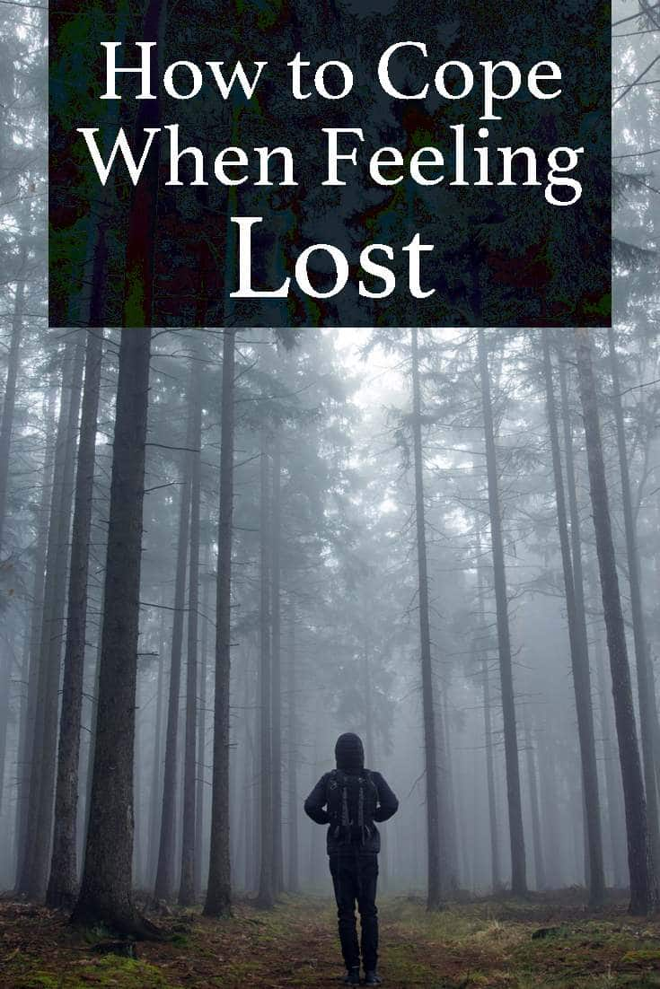 Being lost in our life's journeys is no different from being lost in real life. In our distress and restlessness we become even more unable to find our way back