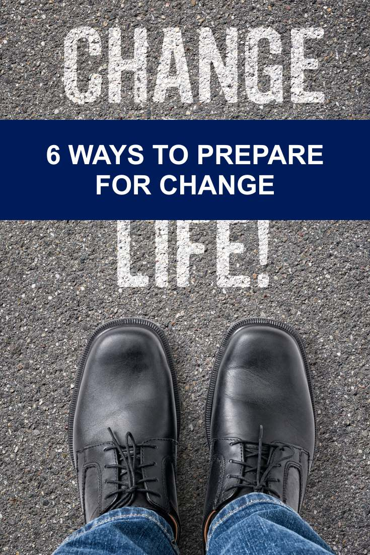 Here's a couple things to remind yourself about when you are struggling to get through some changes