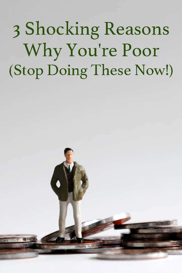If you're struggling with money, one or more of these shocking reasons could be the culprit...