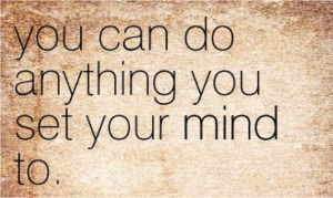 set your mind to