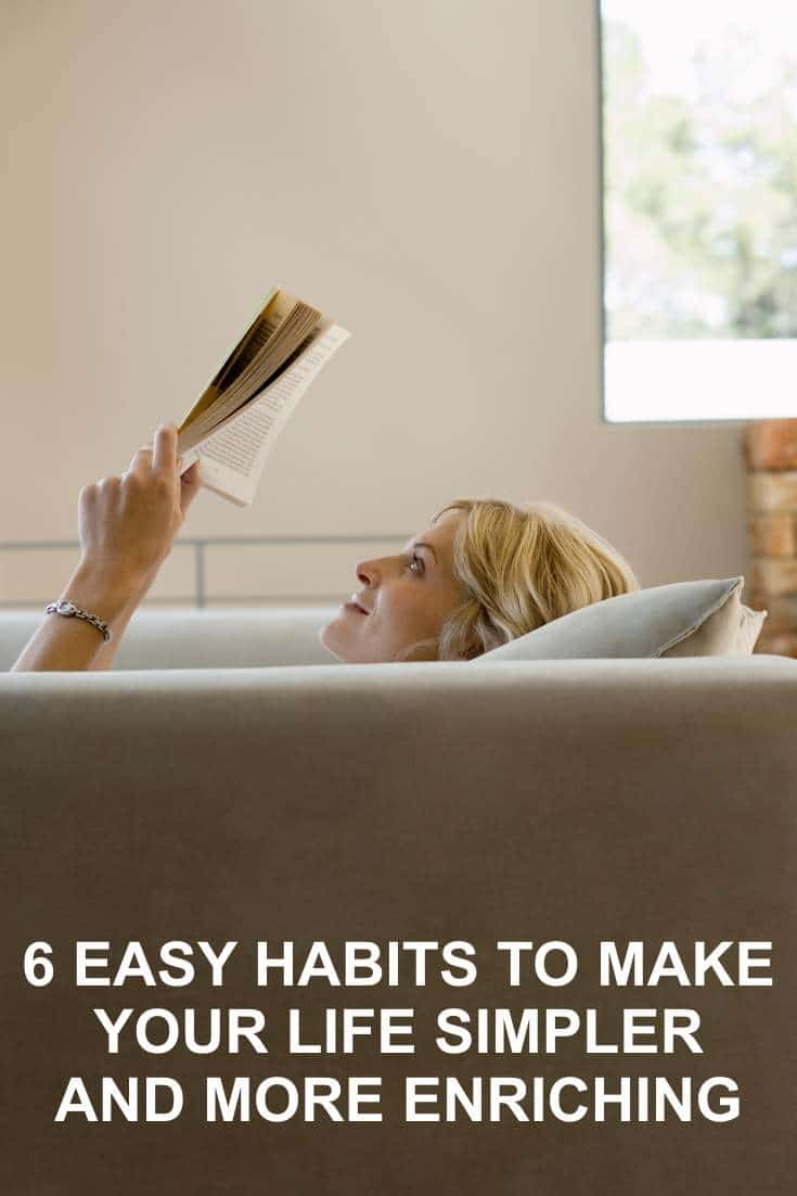 I hope you enjoy reading the behind the scenes depth of what could be some very simple habits to make your life feel simpler and more enriching.
