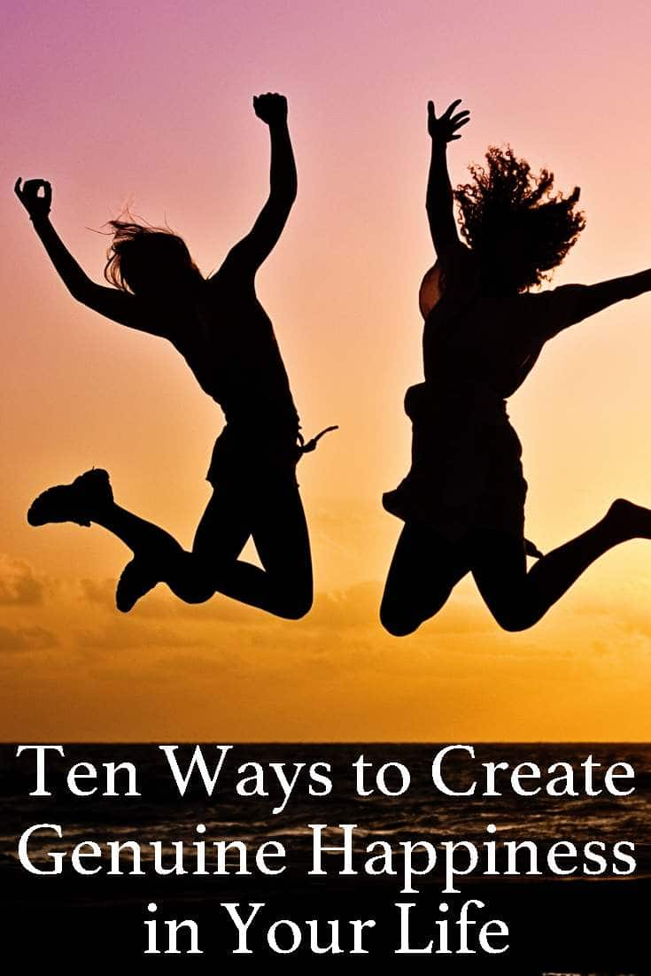 Being always happy is not an easy thing to do. But there are some tips and trick that can help you create genuine happiness.