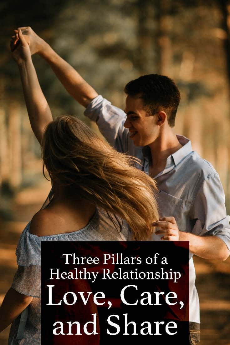 The three pillars of a strong and healthy relationship are love, caring, and sharing. Keep reading to find out what role these three qualities will play in your love life.