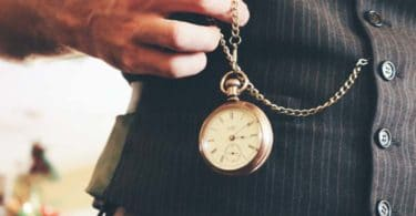 image of a man with watch