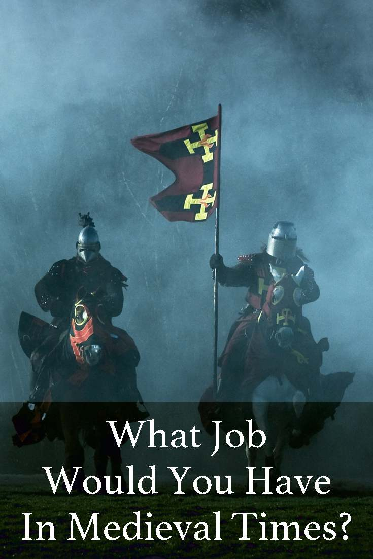 Life in medieval times was rough on everybody, but often we dream about it. Take this quiz to find out what job would you have in medieval times.