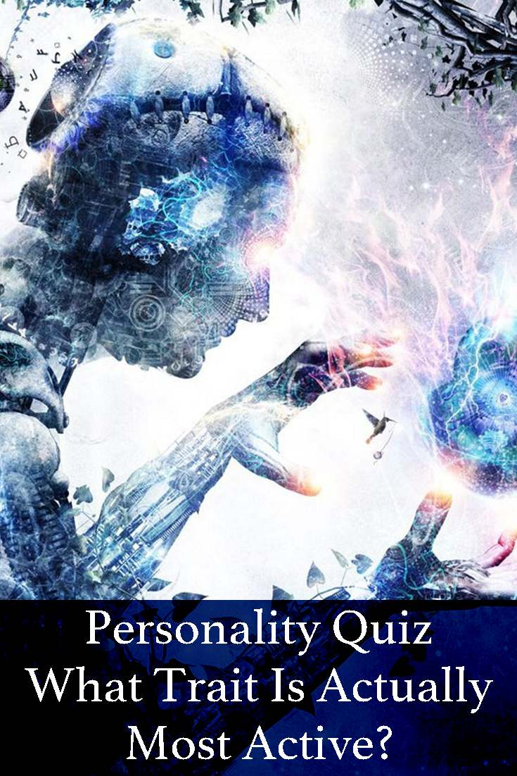 Take this quick personality quiz to determine which part of your personality is most active just now.  I think you'll be surprised with the results.